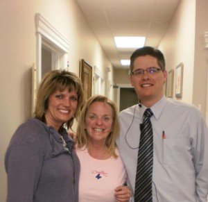 Maxinne West, Jennifer and Dr Jason West