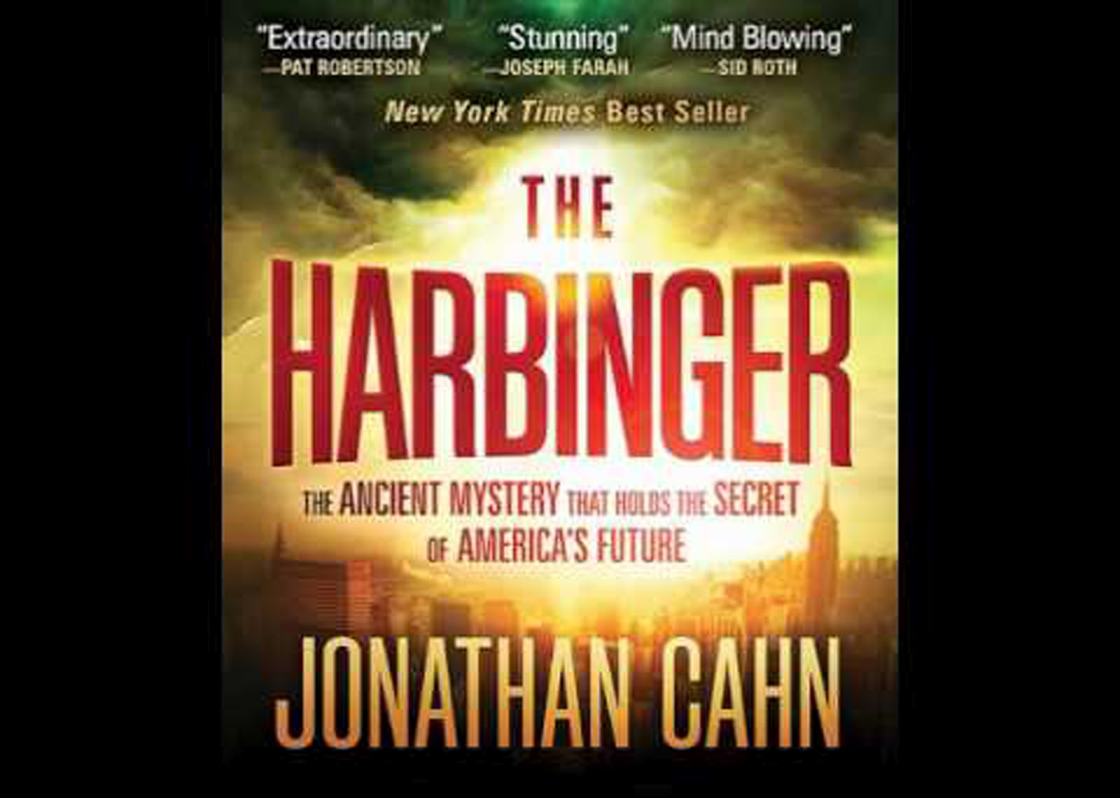 The Harbiner by Jonathan Cahn