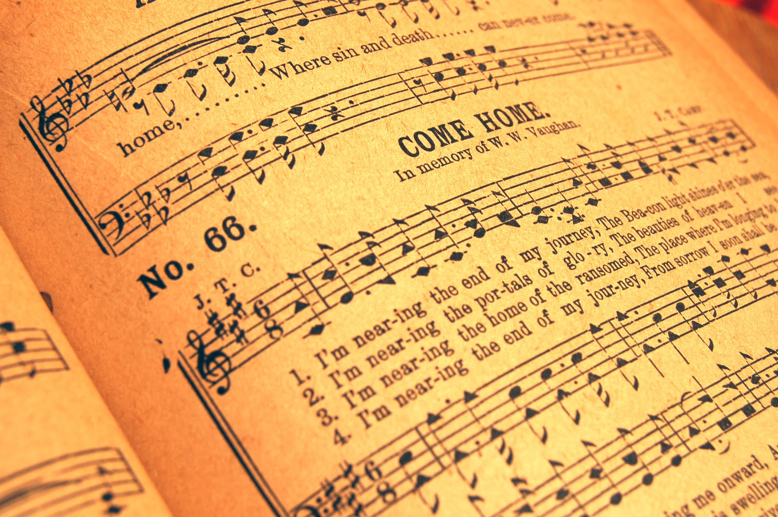 hymnal, power of the hymn,