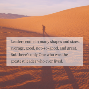 What We Learn From the Greatest Leader in History, Photo by Jehyun Sung on Unsplash