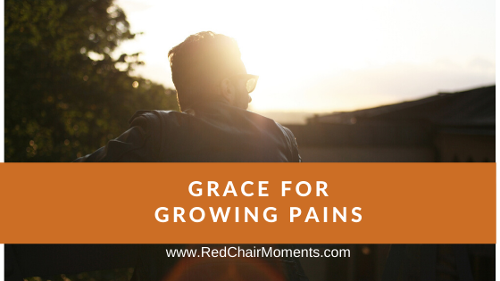 Grace for Growing Pains by April Dawn White
