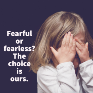 Fearful in the What-ifs or Fearful in Christ, Photo by Caleb Woods on Unsplash