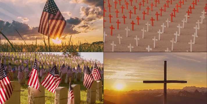 Letters to Honor our Fallen Heroes, photos courtesy of unsplash