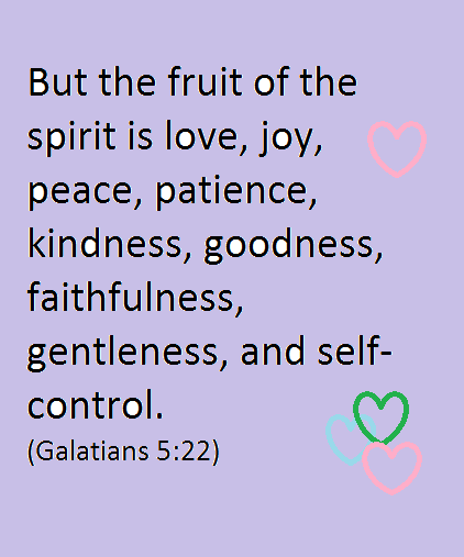 Fruit of the Spirit Quote
