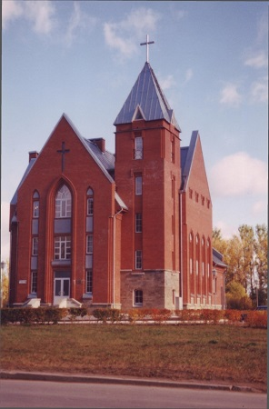 Defying Defeat-church in Kolpino, Russia