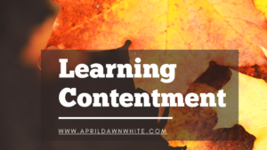 Learning Conentment