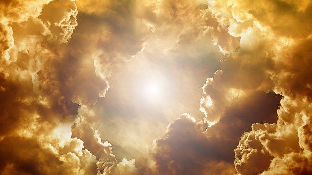 Advent - Looking for Jesus With Our Heads in the Clouds