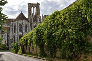 14 Ways to Break Down Walls-ivy-covered wall outside church